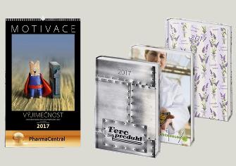 kalendáře a diáře jako dárky pro MůjDen